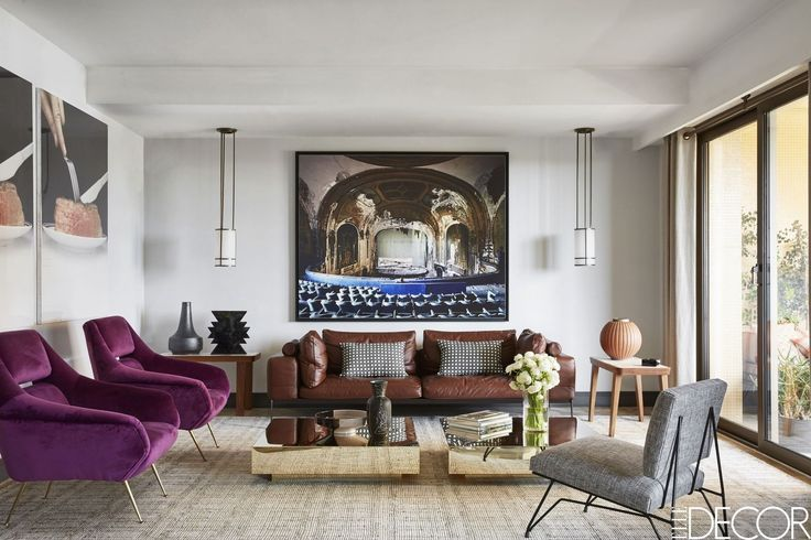 Hang A Massive Photograph - ELLEDecor.com