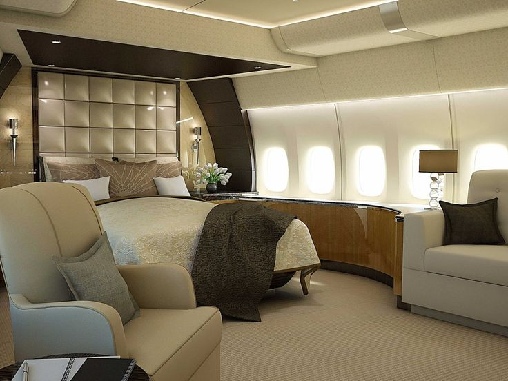 The spectacular jet appears equipped with a number of staterooms one such pictured here the new air force one fleet this is where your tax dollars