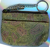 Keychain Coin Purse Women's Travelling Dreaming (green) $8.00 or 2 for $15.00 Code: KCOIN-WTDG04