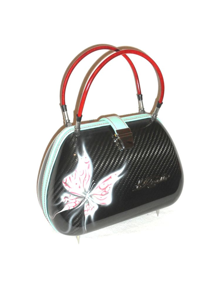 The Fairy. Superlight carbon fiber with airbrush painted Butterflies First signs of Spring