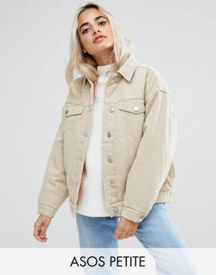 Petite veste en jean femme