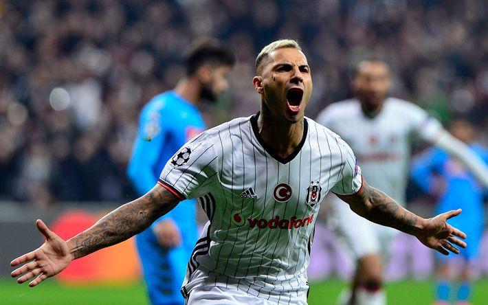 Download wallpapers Ricardo Quaresma, football, Besiktas, Turkey, Soccer, Portuguese footballer