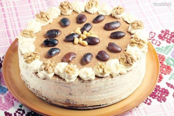 Slávnostná fazuľová torta