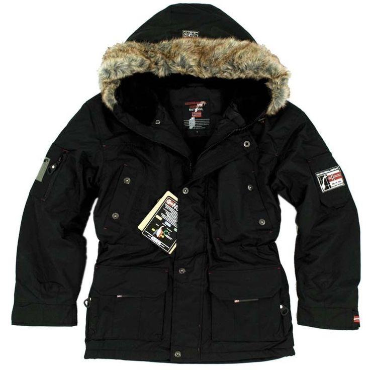 Warme stylische winterjacken