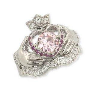 Irish Claddagh Engagement U0026 Wedding Ring Set  Kind Of My Dream Engagement/wedding  Set.