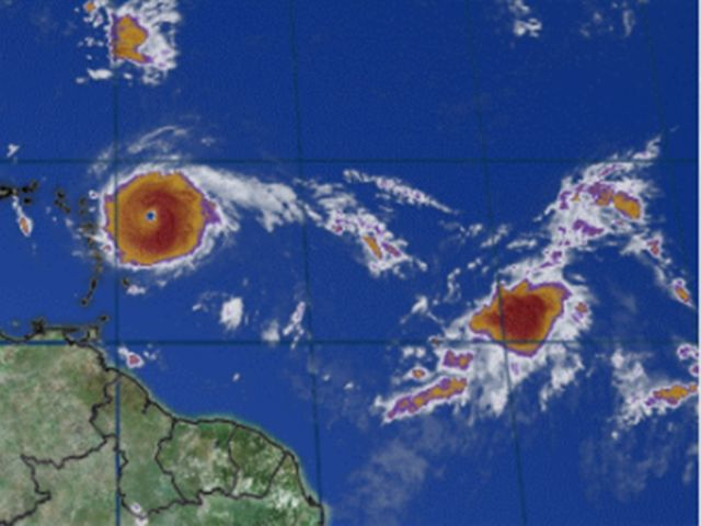 Jose becomes a hurricane in the Atlantic