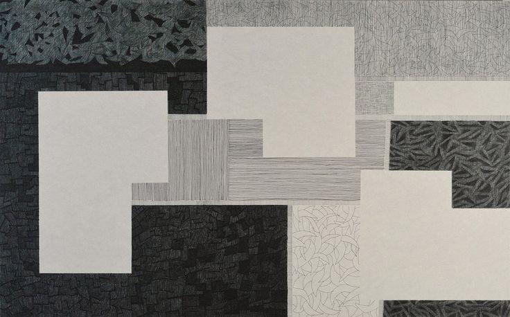 diptych landscape2 / Dominique Lutringer #ART #Contemporary ART