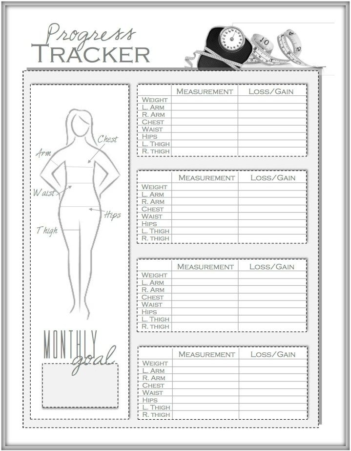 Weight Loss and Measurement Progress Tracker: How I Lost 30 LBS in 15 weeks AND learn more about my upcoming Biggest Loser Competition!!!
