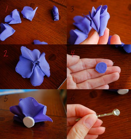 Flower Tutorial pt. 2  by rachelredlips, via Flickr