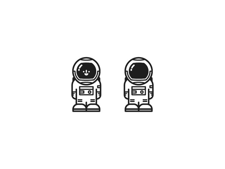 Astronaut Icon by Jason Smith