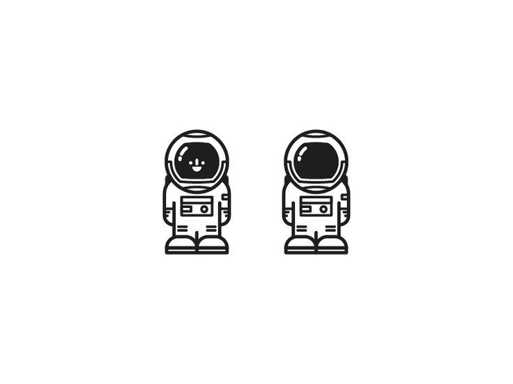 Astronaut Icon by Jason Smith