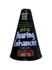 Over the Hill Hearing Enhancer -Gag Gifts -30th Birthday Supplies -Adult Birthday -Birthday Party Supplies - Party City