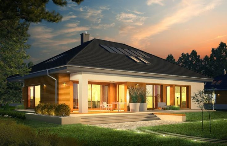 Projekt domu energooszczędnego Marcel G2 MULTI-COMFORT