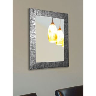 American Made Rayne Silver City Wall Mirror | Overstock.com Shopping - The Best Deals on Mirrors