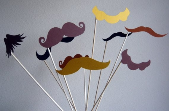 Photo Booth Props  8 Piece prop set  Birthdays by LittleRetreats, $18.00