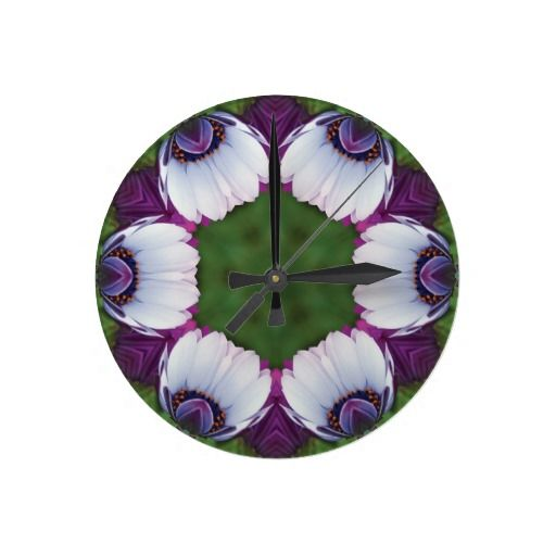 daisies-in-the-morning wall clocks