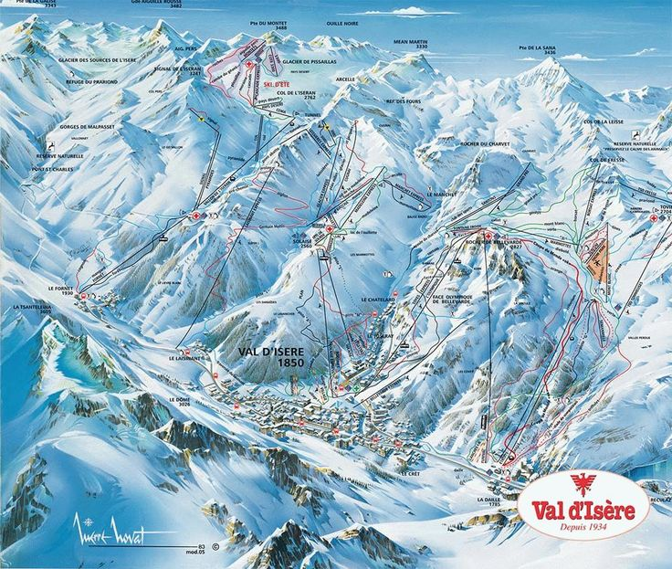 Val d'Isere - One of the best places I have ever skied.