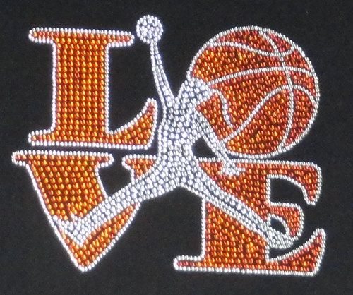 Check out this item in my Etsy shop https://www.etsy.com/listing/167150031/rhinestone-love-basketball-transfer
