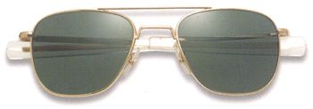 Original Pilot Sunglasses by American Optical: A favorite of US military pilots for over 40 years. Starting at $49.95