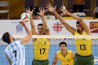 Blog Esportivo do Suíço: Em jogo de viradas, Brasil perde para Argentina e encerra Pan com a prata
