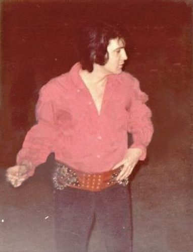 Rare Elvis Presley candid early 70's
