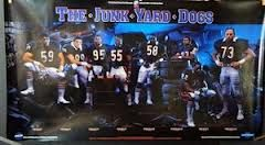 """The Junk Yard Dogs"" with Ron Rivera, Dan Hampton, Richard Dent, Otis Wilson, Wilbur Marshall, Mike Richardson, Dave Duerson and Mike Hartenstine"