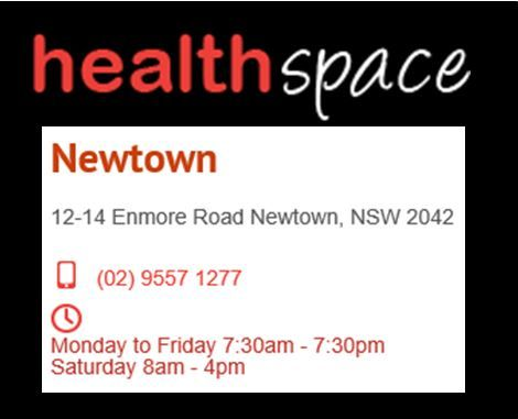 Practitioner Carissa Thomas, Doctor of Chinese Medicine. Health Space Shop 2, 12-14 Enmore Rd. 02 9557 1277.
