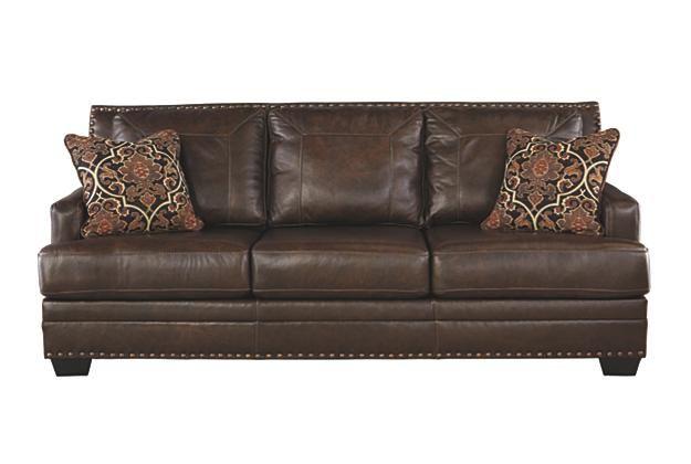 Ashley Furniture Leather Sleeper Sofa