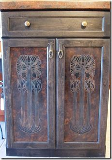 21 best stenciled cabinet doors images on pinterest painted