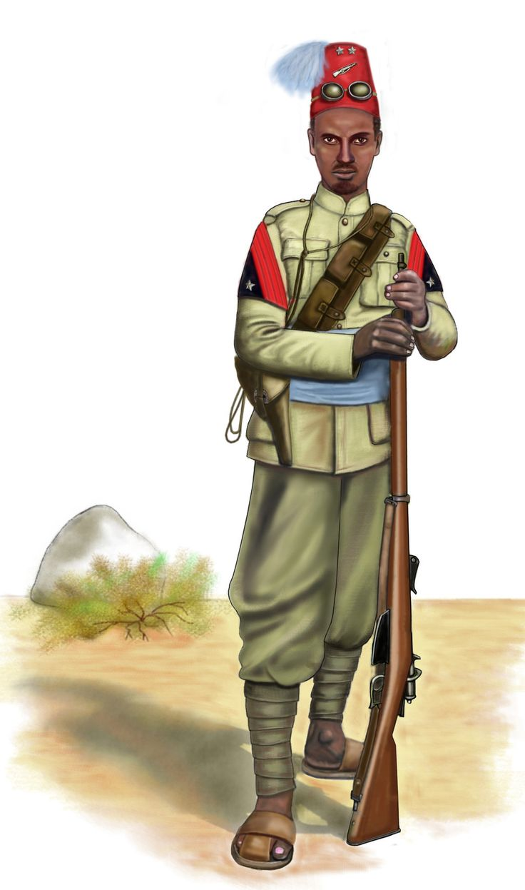 ww2 - 1940 - Ethiopia - Eritrean Sciumbasci by AndreaSilva60 on DeviantArt