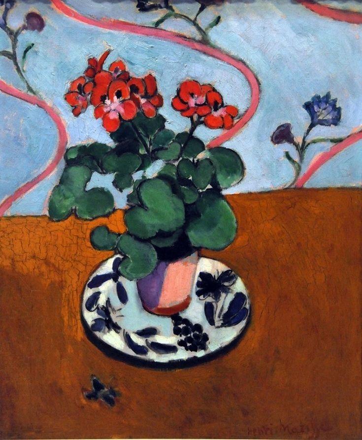lonequixote:   Geraniums by Henri Matisse   (via... - Una Lady italiana