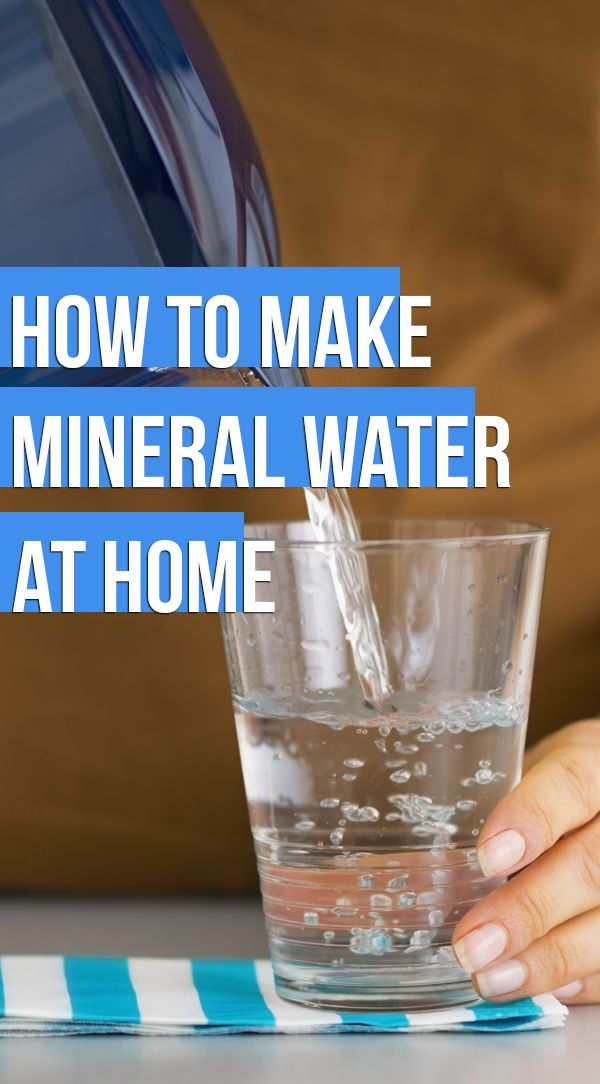 5 Step Guide To How To Make Mineral Water At Home. Click to know more.