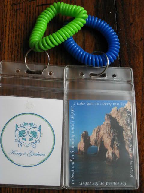 Key holders for OOT bags