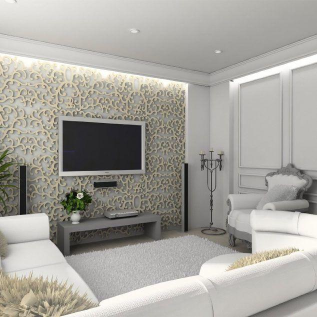 16 Sensational Gypsum Wall Decoration That You Will Definitely Love
