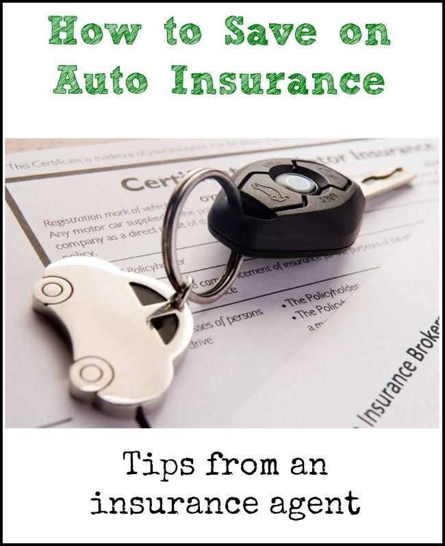 How to Save on Auto Insurance - top tips from an insurance agent
