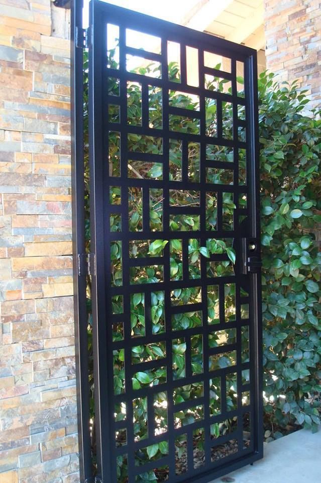 Best 25 Modern gates ideas on Pinterest Aluminium fencing