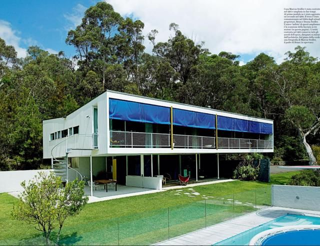An Australian Mid Century Modern Family House Harry Seidler for Brian Seidler. Repinned by secret Design Studio, Melbourne. www.secretdesignstudio.com