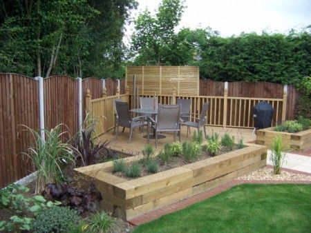 Completed garden designs, construction & planting.
