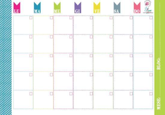 Scarica gratis: agenda, planner e appunti, notes, per pianificare le giornate, la casa, il blog e le attività dei bambini.