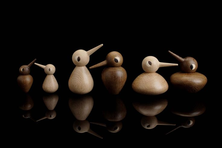 Architect Made Kristian Vedel's Wooden Birds