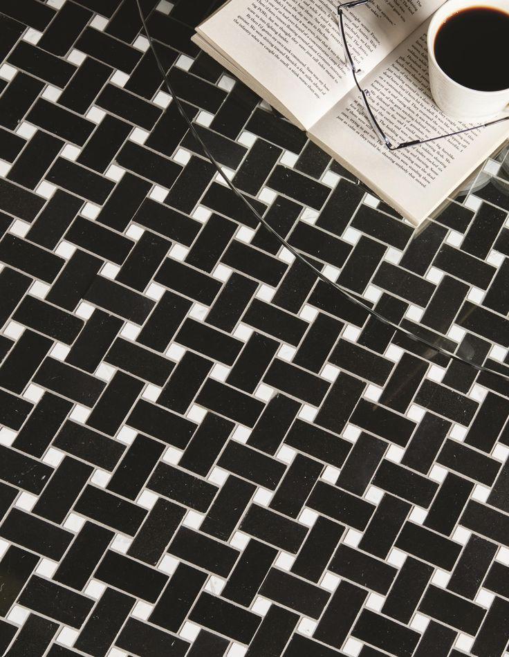 Basketweave tiles