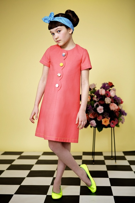 Image of Coral Bubble Dress: Sewing Dresses Inspiration2, Bubbles Dresses, Bubble Dresses, Shift Dresses, Girls Dresses, Coral Bubbles, Products, Shortsleev Dresses, Shorts Sleeve Dresses