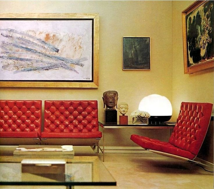 1971 interior. Robert Harling.