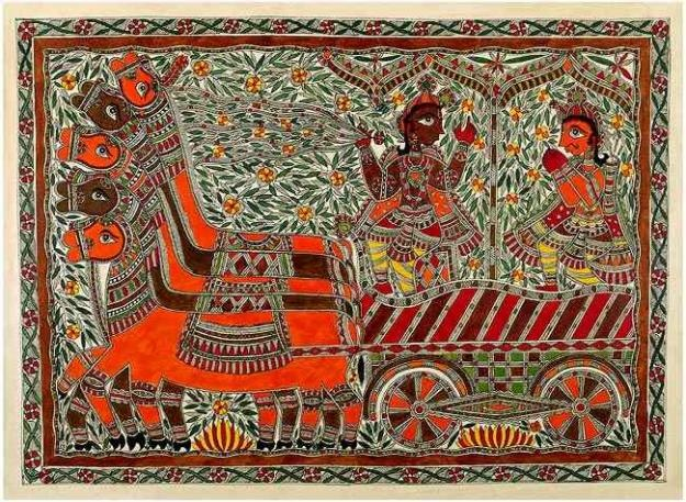 Mithila Painting, unknown painter