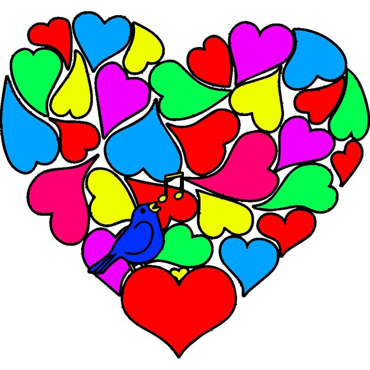 Pin by Tila Figueroa on Valentine's Day Coloring ...