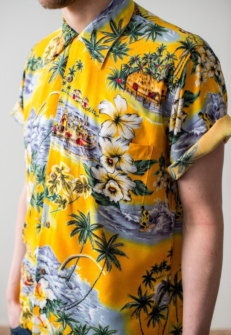 20 best images about hawaiian shirts on pinterest more for Lsu hawaiian print shirts