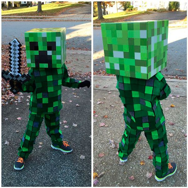 15 Ideas para hacer tu disfraz de Minecraft | MineCrafteo