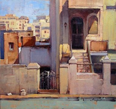Jill Soukup @@@@......http://es.pinterest.com/ecervini/villages-and-cityscapes-painted/