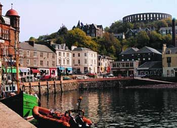 Oban, Scotland...a delightful little town on the west coast of Scotland. It is a great stop over on trip to Iona.  Spent the night there in 2011 and 2013...both times on a pilgrimage to Iona.