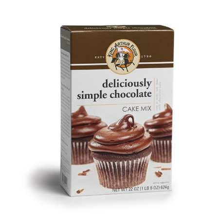 Deliciously Simple Chocolate Cake Mix